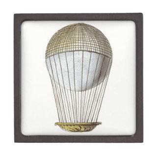 Vicotorian Hot Air Balloon Premium Trinket Box