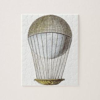 Vicotorian Hot Air Balloon Jigsaw Puzzle