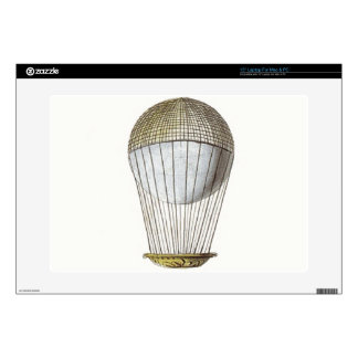Vicotorian Hot Air Balloon Laptop Decals