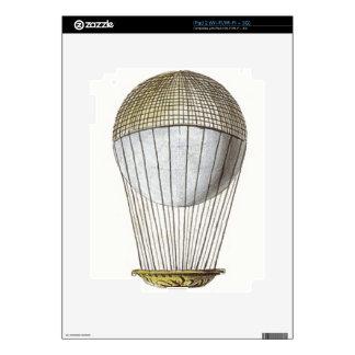 Vicotorian Hot Air Balloon iPad 2 Skin