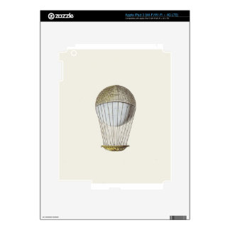 Vicotorian Hot Air Balloon Decals For iPad 3