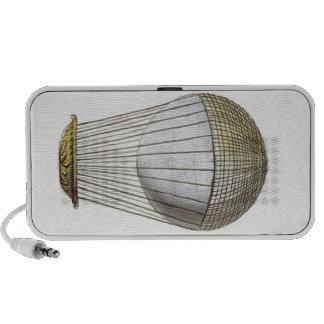 Vicotorian Hot Air Balloon Portable Speaker