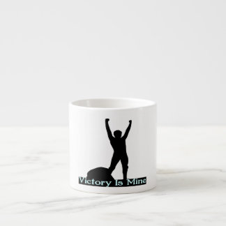 Vicotry Is Mine Espresso Cups