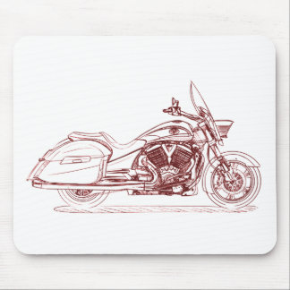 Vict Crossroads Mouse Pad