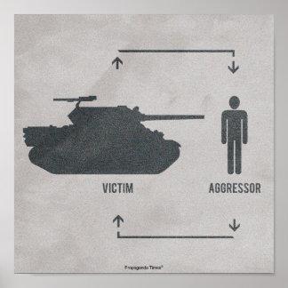 Victim & Aggressor Posters
