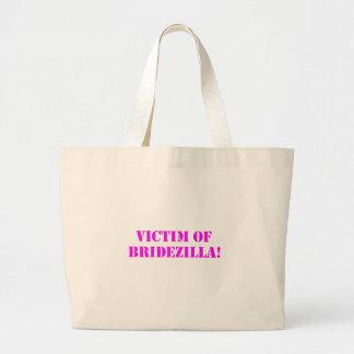 Victim of Bridezilla pink Bag