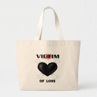 Victim of Love Canvas Bags