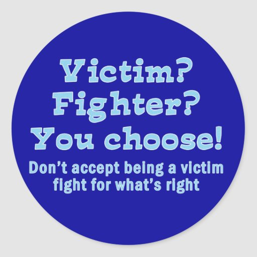 Víctima o combatiente etiquetas
