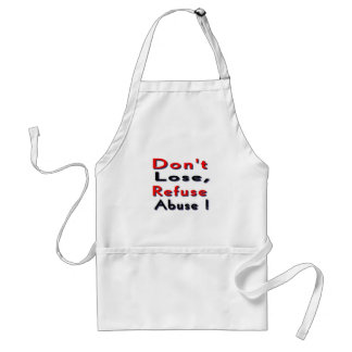 victims of abuse adult apron