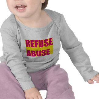 Victims of abuse t-shirts