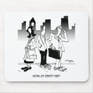 Victims of Identity Theft Mouse Pad