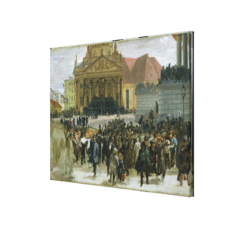 Victims of the March Revolution Canvas Print