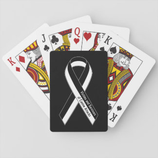 Victims & Survivors of Canine Attack Playing Cards