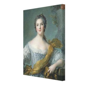 Victoire de France  at Fontevrault, 1748 Canvas Print