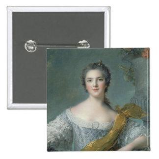 Victoire de France  at Fontevrault, 1748 Pinback Button