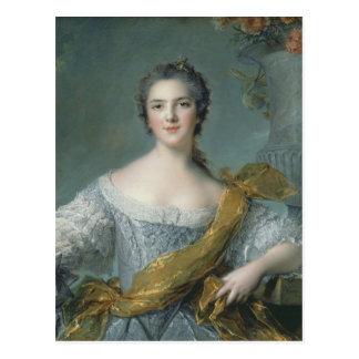 Victoire de France  at Fontevrault, 1748 Postcard