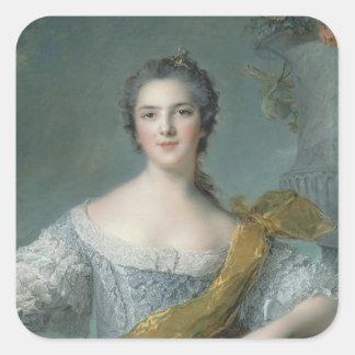 Victoire de France  at Fontevrault, 1748 Square Sticker