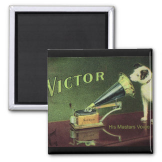 Victor 1899 2 inch square magnet