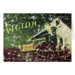 Victor 1899- distressed greeting cards