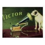 Victor 1899 postcard