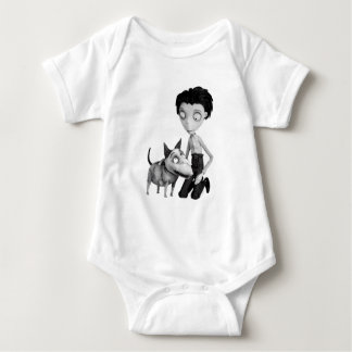 Victor and Sparky Baby Bodysuit