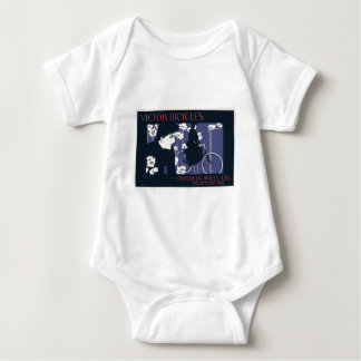Victor Bicycles Overman Wheel Company Baby Bodysuit