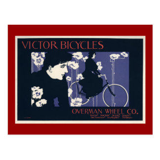 Victor Bicycles Overman Wheel Company Postcard