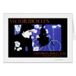 Victor Bicycles Overman Wheel Promo Poster Cards