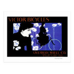 Victor Bicycles Overman Wheel Promo Poster Postcards