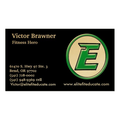 Victor Business Cards