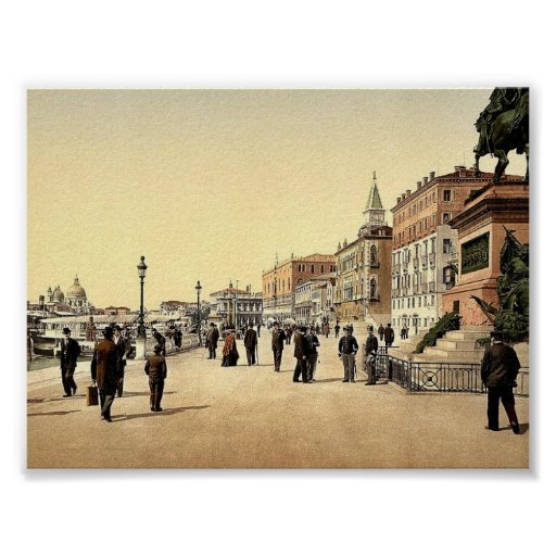 Victor Emmanuel's Monument, Venice, Italy classic Poster