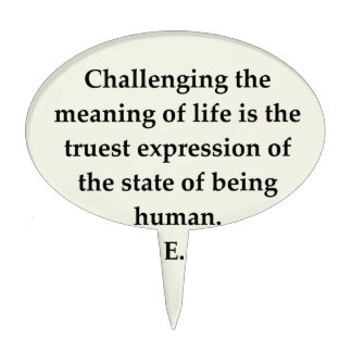 victor frankl quote cake toppers