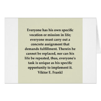 victor frankl quote card
