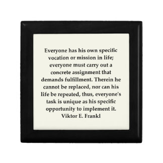 victor frankl quote jewelry box