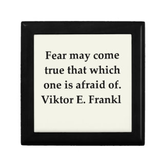 victor frankl quote trinket boxes