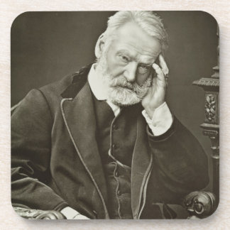 Victor Hugo (1802-85), from 'Galerie Contemporaine Drink Coasters