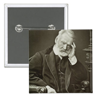 Victor Hugo (1802-85), from 'Galerie Contemporaine Pinback Button