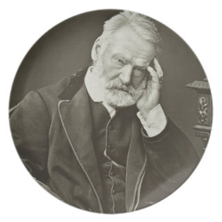 Victor Hugo (1802-85), from 'Galerie Contemporaine Plate