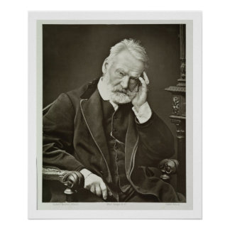 Victor Hugo (1802-85), from 'Galerie Contemporaine Posters