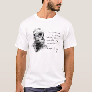 Victor Hugo Absorbed in Thought T-Shirt