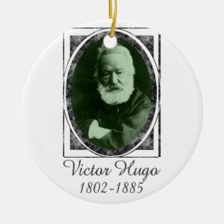 Victor Hugo Ceramic Ornament