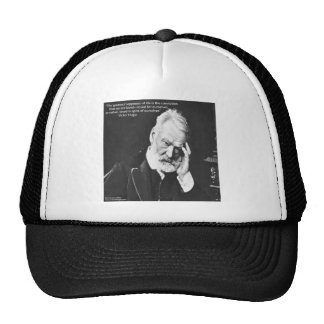 Victor Hugo & Happiness Quote Gifts Tees Etc Trucker Hat