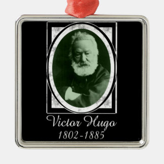 Victor Hugo Metal Ornament