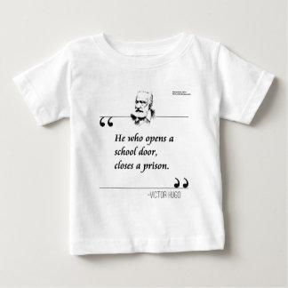Victor Hugo Open School Door Quote Shirt