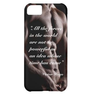 Victor Hugo powerful quote body background iPhone 5C Covers