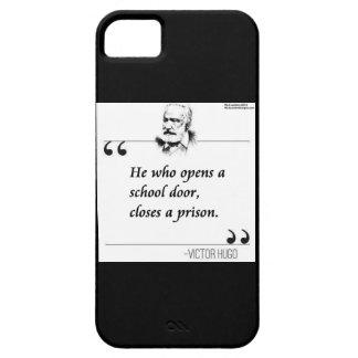 Victor Hugo School Door Quote iPhone 5 Case iPhone 5 Cover