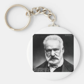 """Victor Hugo """"Tenderness"""" Quote Gifts Mugs Cards Basic Round Button Keychain"""