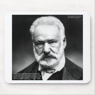 """Victor Hugo """"Tenderness"""" Quote Gifts Mugs Cards Mouse Pad"""