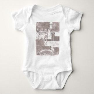 Victor Jones drawings Baby Bodysuit