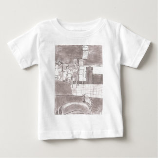 Victor Jones drawings Baby T-Shirt